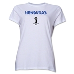 Honduras 2014 FIFA World Cup Brazil(TM) Women's Core T-Shirt (White)