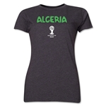Algeria 2014 FIFA World Cup Brazil(TM) Women's Core T-Shirt (Dark Grey)