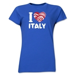 I Heart Italy 2014 FIFA World Cup Brazil(TM) Women's T-Shirt (Royal)