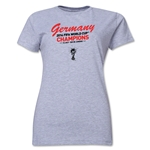 Germany 2014 FIFA World Cup Brazil(TM) Women's Champions T-Shirt (Grey)
