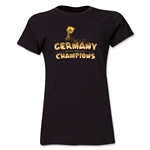 Germany 2014 FIFA World Cup Brazil(TM) Women's Champions Trophy T-Shirt (Black)