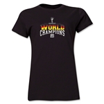 Germany 2014 FIFA World Cup Brazil(TM) Women's World Champions T-Shirt (Black)