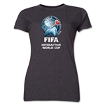 FIFA Interactive World Cup Women's Core Full Color Emblem T-Shirt (Red)
