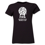FIFA Interactive World Cup Women's Core Single Color Emblem T-Shirt (Red)