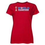 Bayern Munich FIFA Club World Cup 2013 Champions Women's T-Shirt