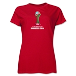 FIFA Club World Cup Morocco 2014 Women's Core T-Shirt (Red)