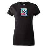 FIFA U-20 World Cup Turkey 2013 Women's Emblem T-Shirt (Black)