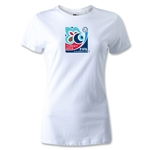 FIFA Men's U20 World Cup 2013 Women's Event Emblem T-Shirt (White)