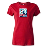 FIFA Men's U20 World Cup 2013 Women's Event Emblem T-Shirt (Red)
