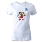 FIFA U-20 World Cup Turkey Women's Mascot T-Shirt (White)