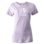 FIFA U-20 World Cup Turkey 2013 Women's Emblem T-Shirt (Pink)