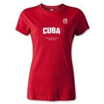 FIFA U-20 World Cup Turkey Women's Cuba T-Shirt (Red)