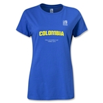 FIFA U-20 World Cup 2013 Women's Colombia T-Shirt (Royal)