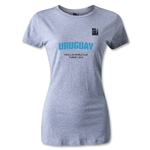 FIFA U-20 World Cup 2013 Women's Uruguay T-Shirt (Gray)