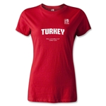 FIFA U-20 World Cup 2013 Women's Turkey T-Shirt (Red)