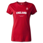 FIFA U-20 World Cup 2013 Women's England T-Shirt (Red)
