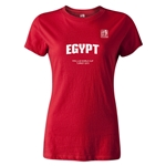 FIFA U-20 World Cup 2013 Women's Egypt T-Shirt (Red)