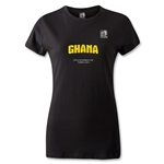 FIFA U-20 World Cup 2013 Women's Ghana T-Shirt (Black)