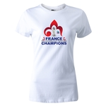 France FIFA U-20 World Cup 2013 Winners Women's T-Shirt (White)
