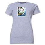 FIFA U-17 World Cup UAE 2013 Women's Official Emblem T-Shirt (Grey)