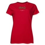 Iraq 2013 FIFA U-17 World Cup UAE Women's T-Shirt (Red)