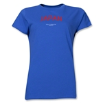 Japan 2013 FIFA U-17 World Cup UAE Women's T-Shirt (Royal)
