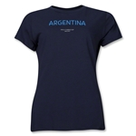 Argentina 2013 FIFA U-17 World Cup UAE Women's T-Shirt (Navy)