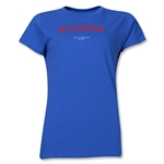 Slovakia 2013 FIFA U-17 World Cup UAE Women's T-Shirt (Royal)