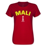 Mali FIFA U17 World Cup Chile 2015(TM) Women's T-Shirt (Red)