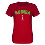 Guinea FIFA U17 World Cup Chile 2015(TM) Women's T-Shirt (Red)