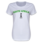South Africa FIFA U17 World Cup Chile 2015(TM) Women's T-Shirt (White)