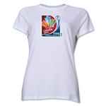 FIFA Women's World Cup Canada 2015(TM).Women's Core T-Shirt (White)