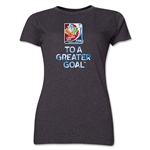 FIFA Women's World Cup Women's T-Shirt (Dark Gray)