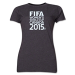 FIFA Women's World Cup Canada 2015(TM).Women's Core T-Shirt (Grey)