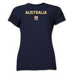 Australia FIFA Women's World Cup Canada 2015(TM) Women's T-Shirt (Navy)
