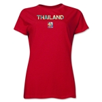 Thailand FIFA Women's World Cup Canada 2015(TM) Women's T-Shirt (Red)