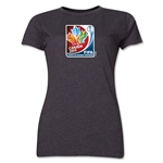 FIFA Women's World Cup Canada 2015(TM).Women's French Core T-Shirt (Dark Grey)
