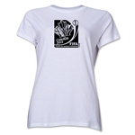 FIFA Women's World Cup Canada 2015(TM).Women's French Core T-Shirt (White)