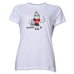 FIFA Women's World Cup Canada 2015(TM).Women's Mascot Pose 1 T-Shirt (White)