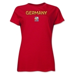 FIFA Women's World Cup Canada 2015(TM).Women's Poster T-Shirt (Red)