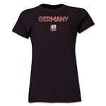 Germany FIFA Women's World Cup Canada 2015(TM) Women's T-Shirt (Black)