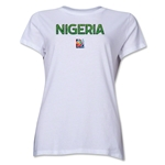 Nigeria FIFA Women's World Cup Canada 2015(TM) Women's T-Shirt (White)