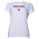 Costa Rica FIFA Women's World Cup Canada 2015(TM) Women's T-Shirt (White)