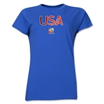 USA FIFA Women's World Cup Canada 2015(TM) Women's T-Shirt (Royal)