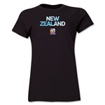 New Zealand FIFA Women's World Cup Canada 2015(TM) Women's T-Shirt (Black)