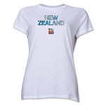 New Zealand FIFA Women's World Cup Canada 2015(TM) Women's T-Shirt (White)