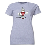 FIFA Women's World Cup Canada 2015(TM) Women's Mascot Pose 1 T-Shirt (Grey)
