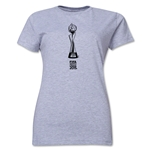 FIFA Women's World Cup Canada 2015(TM) Women's Trophy 1 T-Shirt (Grey)