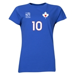 Japan FIFA Women's World Cup Canada 2015(TM) Player Women's T-Shirt (Royal)