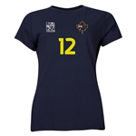 Australia FIFA Women's World Cup Canada 2015(TM) Player Women's T-Shirt (Navy)